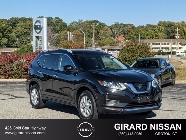 Great 2018 Nissan Rogue SV In Groton, CT   Girard Nissan